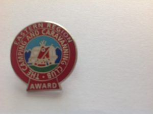 Eastern Region Award Pin Badge