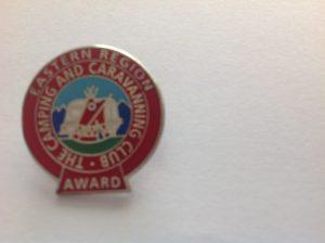 Eastern Region Award Pin Badge